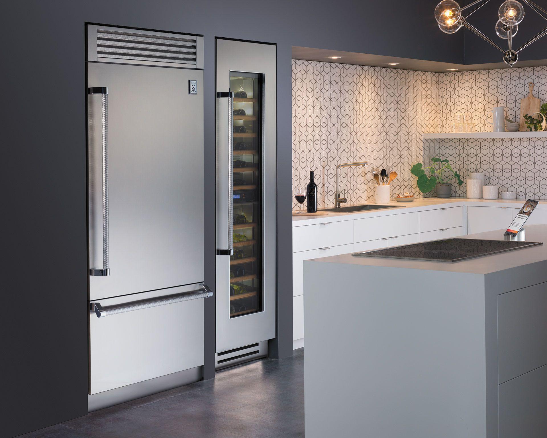 "24"" Column Refrigerator KRC Series Top rated"