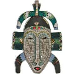 masque africain raku