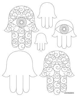 Dont Eat The Paste Hamsa Coloring Page And Embroidery Patterns Don