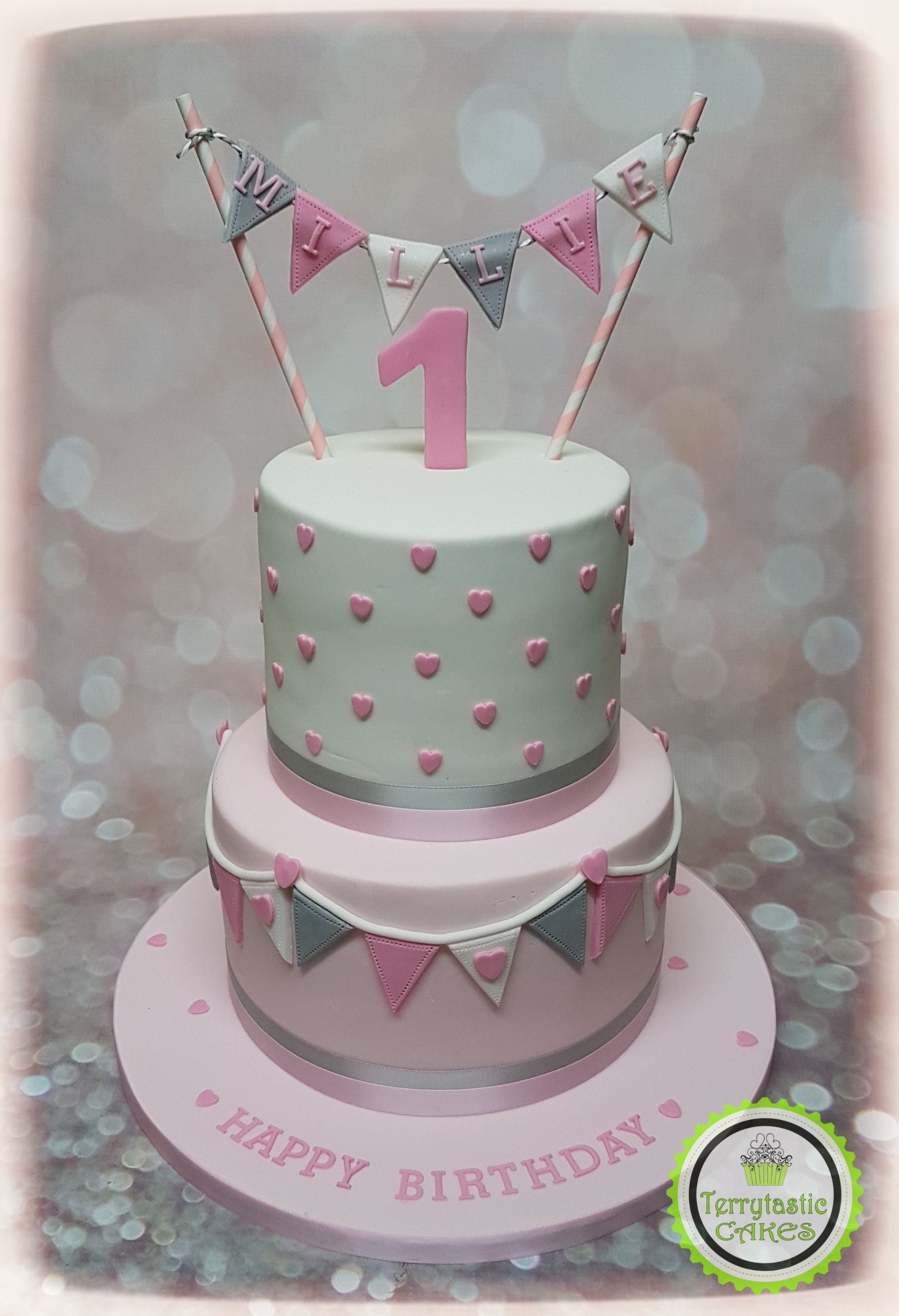 23 Inspiration Photo Of Birthday Cake Girl With Images 1st