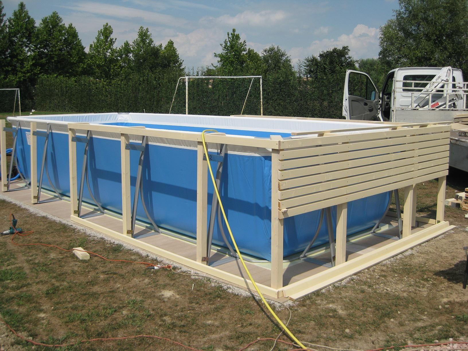 Copertura piscina fuori terra cerca con google piscine for Aufstellpool verkleiden