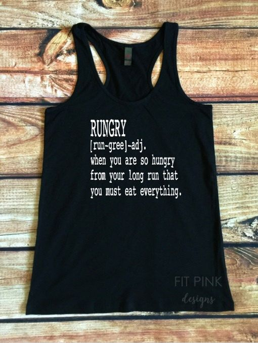 7b01e8925d Women's Running Tank Top, Rungry Tank Top, Workout Clothes, Gym Tank Tops,  Running Shirts, Fitness Tank, Funny Workout Tank, Gift For Runner
