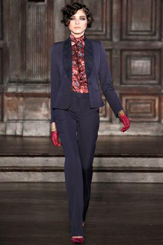 Fitted Suit (L'Wren Scott Fall 2012 RTW)