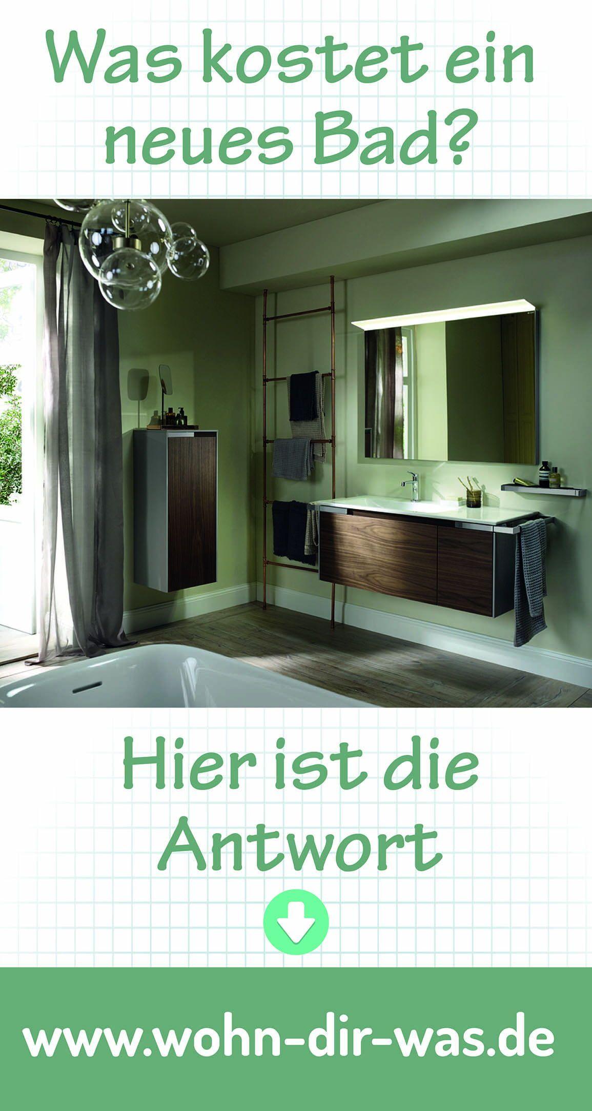 So Viel Kostet Dein Traumbad Neues Badezimmer Badezimmer Badezimmer Gunstig