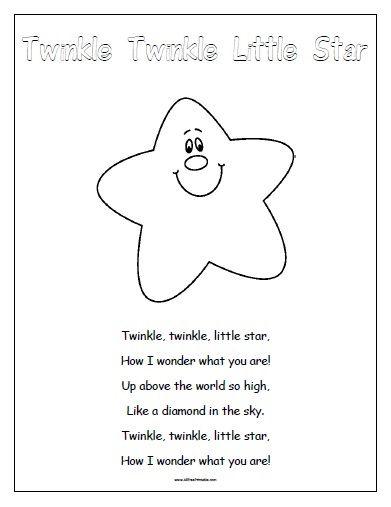 Free Printable Nursery Rhymes With