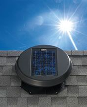 Solatube Daylighting Solar Star Attic Fan The Solar