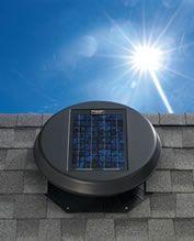 Solatube Daylighting Solar Star Attic Fan The Solar Specialist Michigan Solatube Premier Dealer Solar Attic Fan Attic Fan Solar