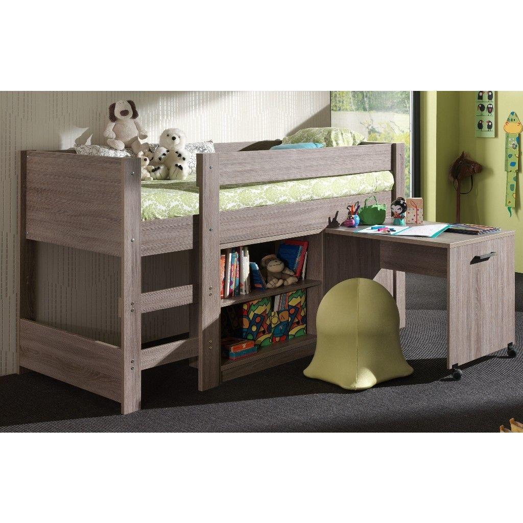Halfhoogslaper En Bureau.Halfhoogslapers Met Bureau In 2019 Kinderkamers Bed Bunk Beds