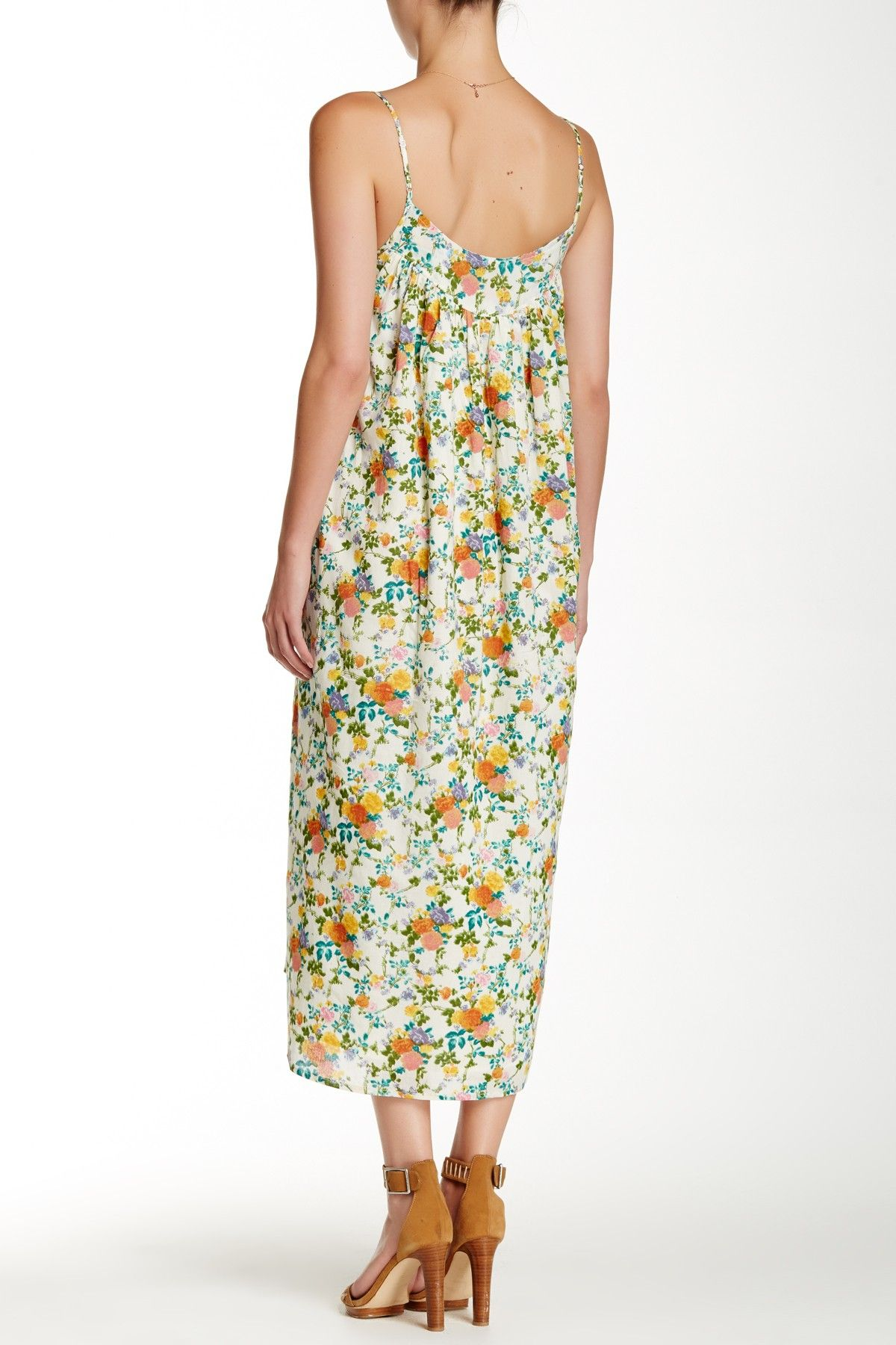Floral maxi dress something about those maxis and other stuff