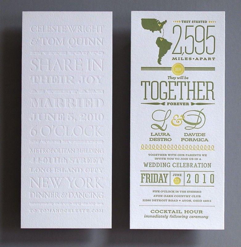 tea length invitations @wedding #letterpress | Letterpress ...