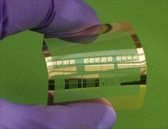 Eletrônica Alvorada : Transistores de silício ficam flexíveis e chegam a...