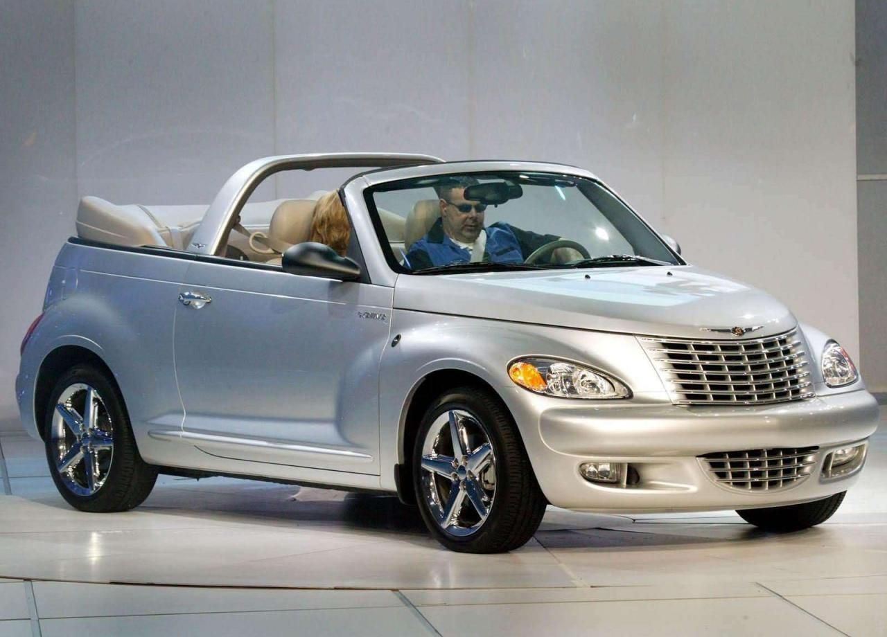 2005 Chrysler Pt Cruiser Convertible With Images Chrysler Pt