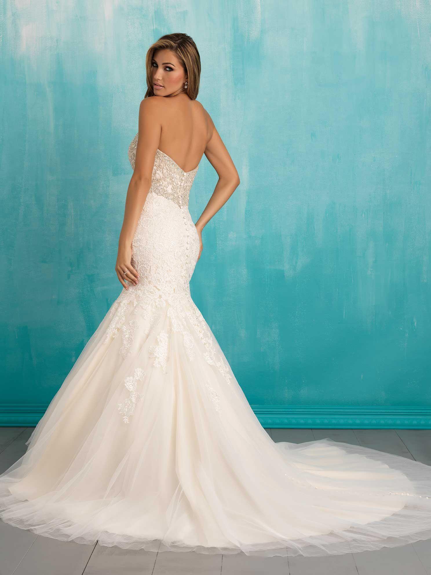Allure Bridals: Style: 9305 | A L L U R E BRIDALS | Pinterest ...