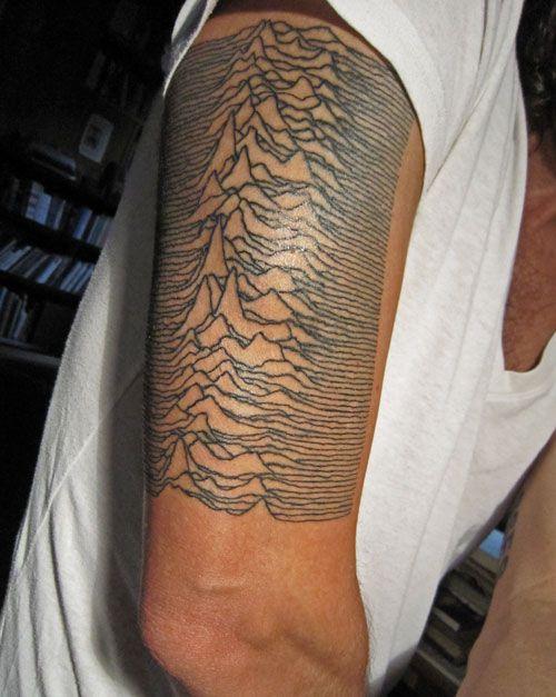 joy division unknown pleasures tattoo tattoos pinterest tattoo. Black Bedroom Furniture Sets. Home Design Ideas