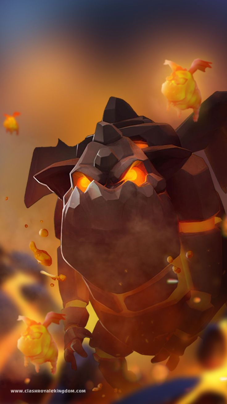 Clash Royale Wallpaper — LAVA HOUND