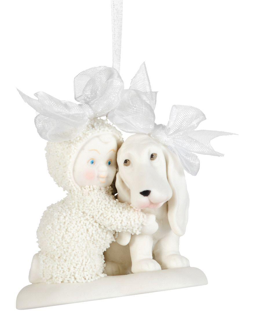 Department 56 snowbabies ornaments - Department 56 Snowbabies Doggone Cute Ornament