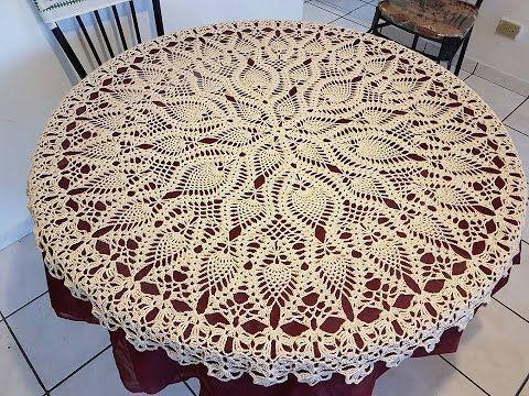 2017 Knitting Tablecloths Video