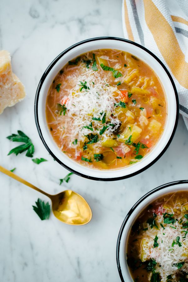 Slow Cooker Winter Vegetable Soup  hearty crock pot winter vegetable soup with split red lentils This healthy crock pot recipe is packed with vegetables red split lentils...