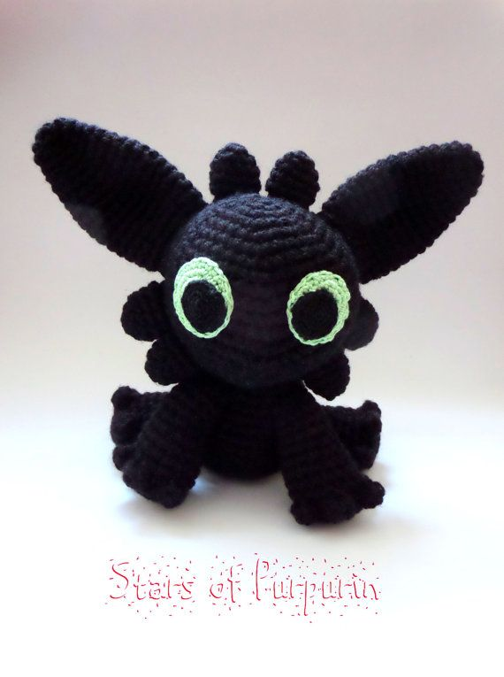 Toothless - How To Train Your Dragon - Night Fury, Plush | dragón ...