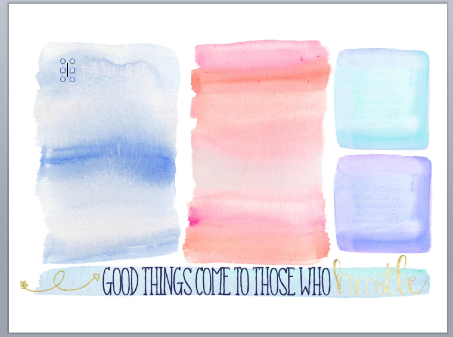 Watercolor desktop wallpaper