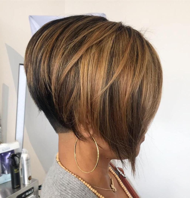 50 Stylish Ways To Wear A Modern Undercut Bob Haircut In 2020 Undercut Bob Haircut Bobs Haircuts Undercut Bob