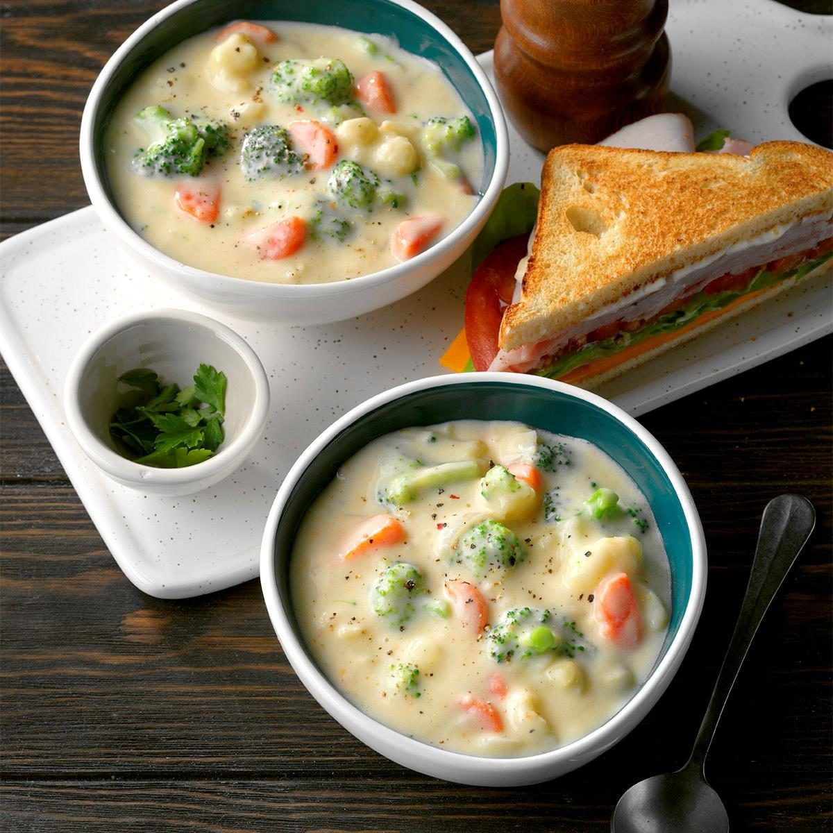 Cauliflower Broccoli Cheese Soup Recipe Hearty Soup Recipes Hearty Soups Broccoli Cheese Soup Recipes