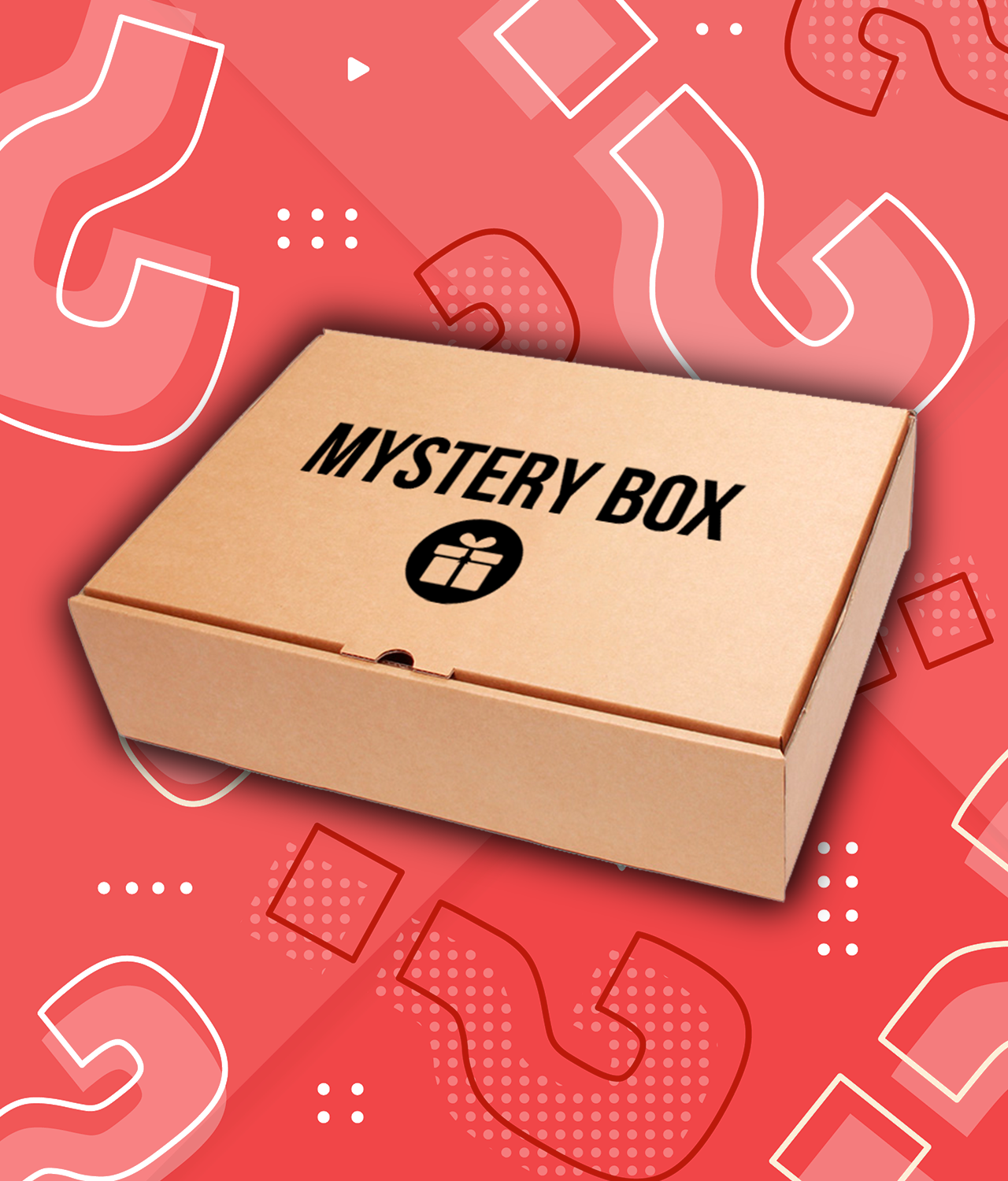 Random Mystery Gift Box for Nerds and Geeks
