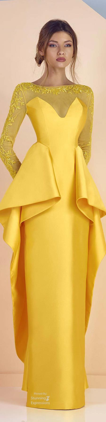 Edward arsouni ss maiz pinterest gowns color yellow and