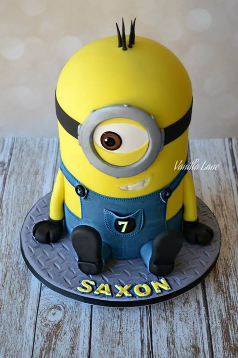 minion cake | character cakes in 2018 | Pinterest ...