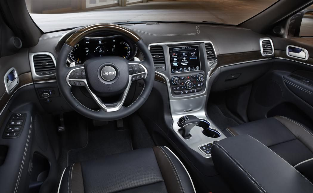 Jeep Grand Cherokee Overland 2014 Interior