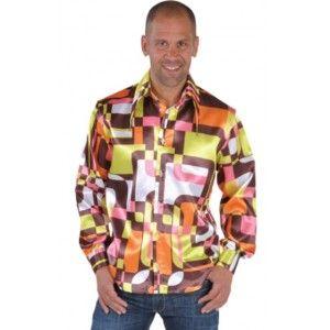 d guisement hippie 70 39 s adulte d guisement chemise hippie r tro chic deluxe homme magic by. Black Bedroom Furniture Sets. Home Design Ideas