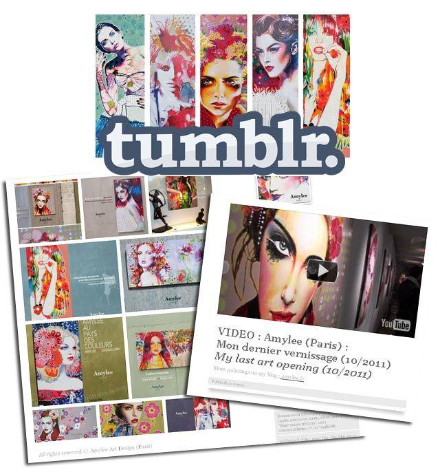 Tumblr Une Ide De Blog Pour Les Artistes Peintres Amyleefr