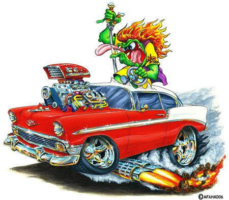Madd Dogg S Muscle Car Art Add Lucky Driver To Any Madd Doggs