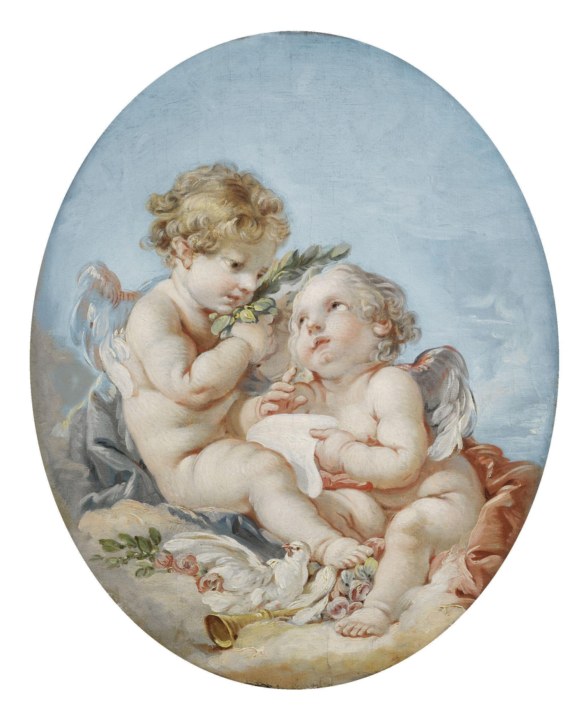 картинки античные ангелочки тех, кто