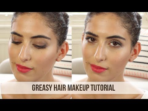 ▶ Greasy Hair Makeup Tutorial // Lily Pebbles - YouTube