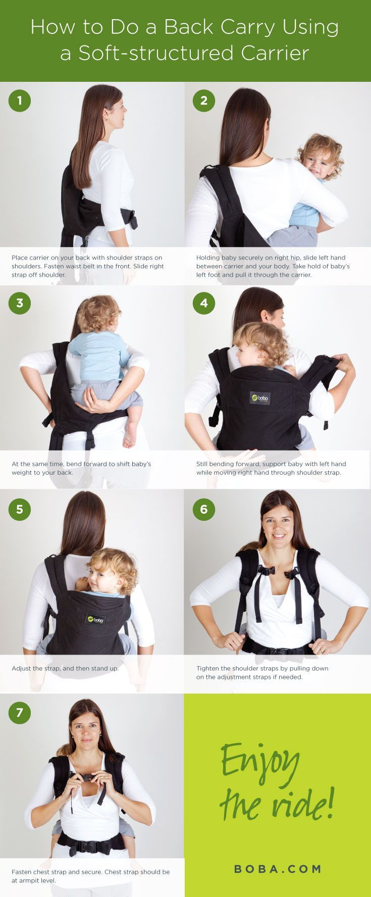 Classic Carrier Babywearing Baby Wearing Boba Carrier