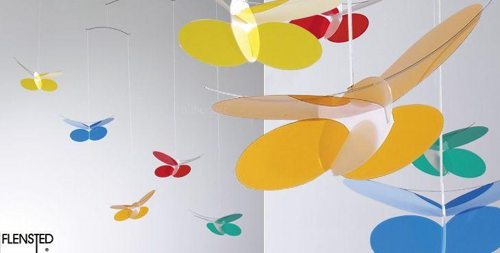 Mobile Papillons (Click-a-Mobile)- Flensted Mobiles- Bébé Petit Pom