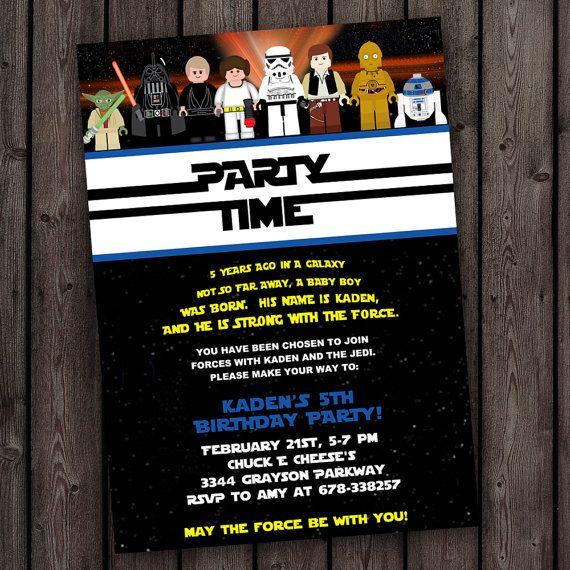 star wars invitation star wars birthday invitations fast ship – Star Wars Birthday Invitation Wording