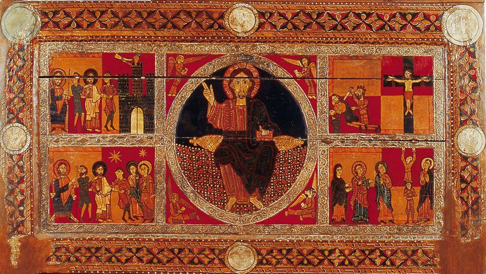 Resultado de imagen de Iglesia de Sant Andreu en Sagàs frontal de altar