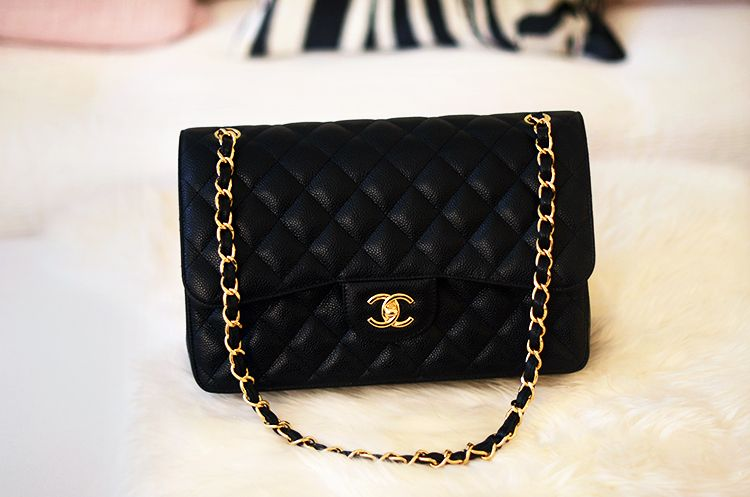 Chanel Caviar Jumbo