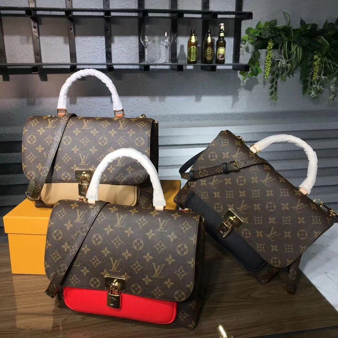 35eecdf764 Louis Vuitton LV MARIGNAN M44257   Haute Handbags IV   Louis vuitton ...