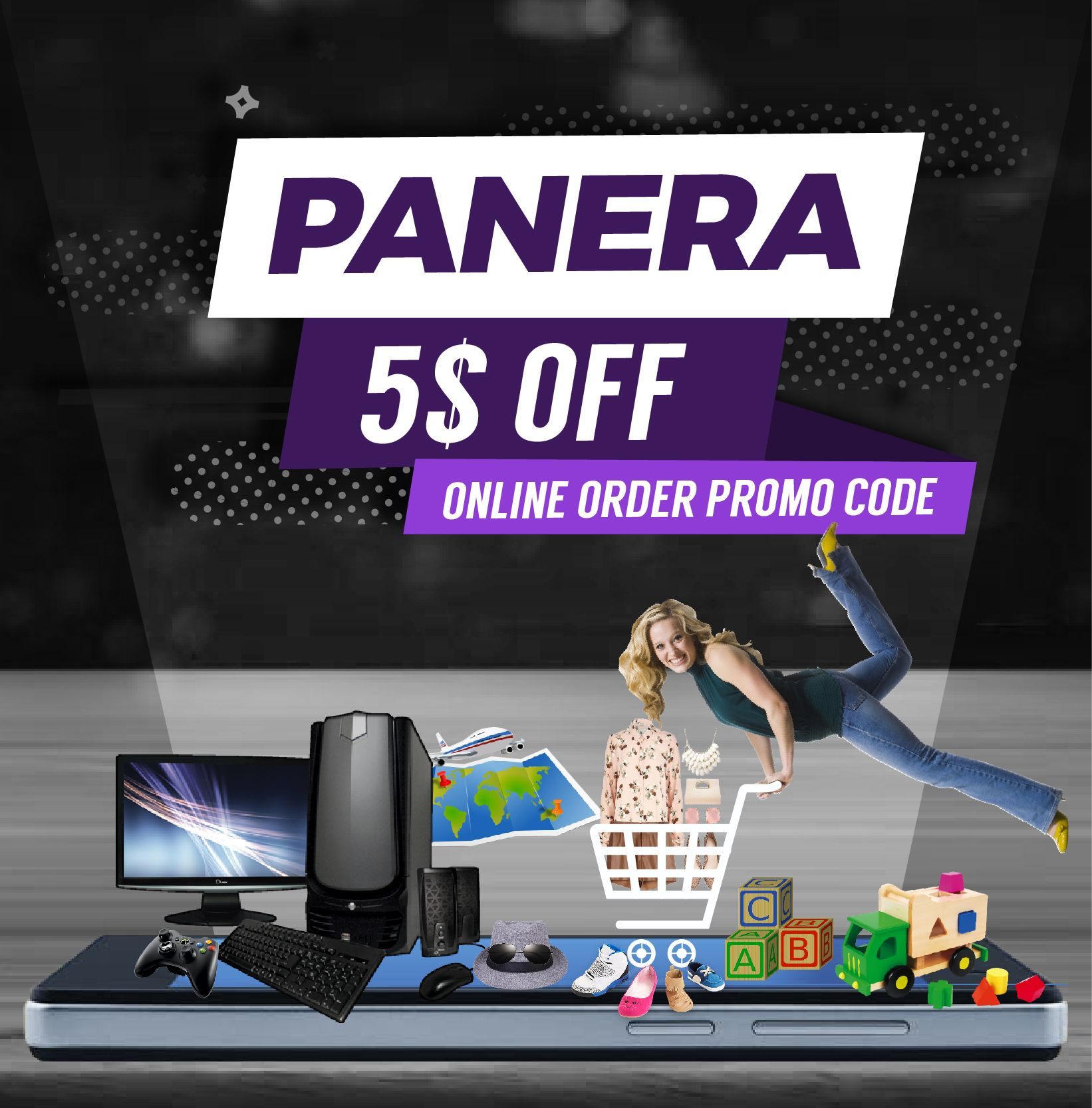Panera 5 off Online Order Promo Code and discount codes