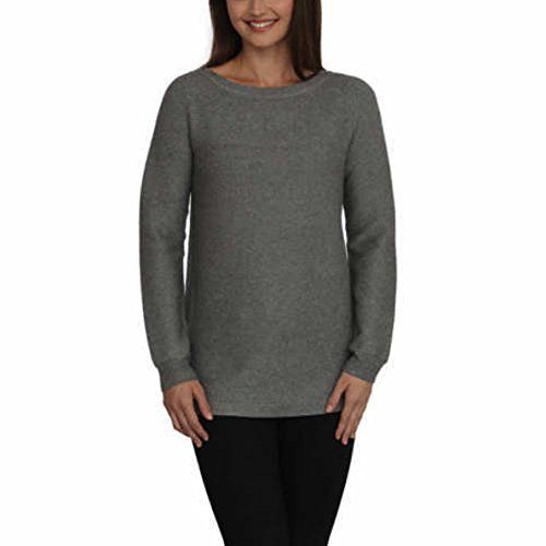 Cyrus Ladies' Ribbed Texture Pullover Tunic Sweater | WOMEN'S ...