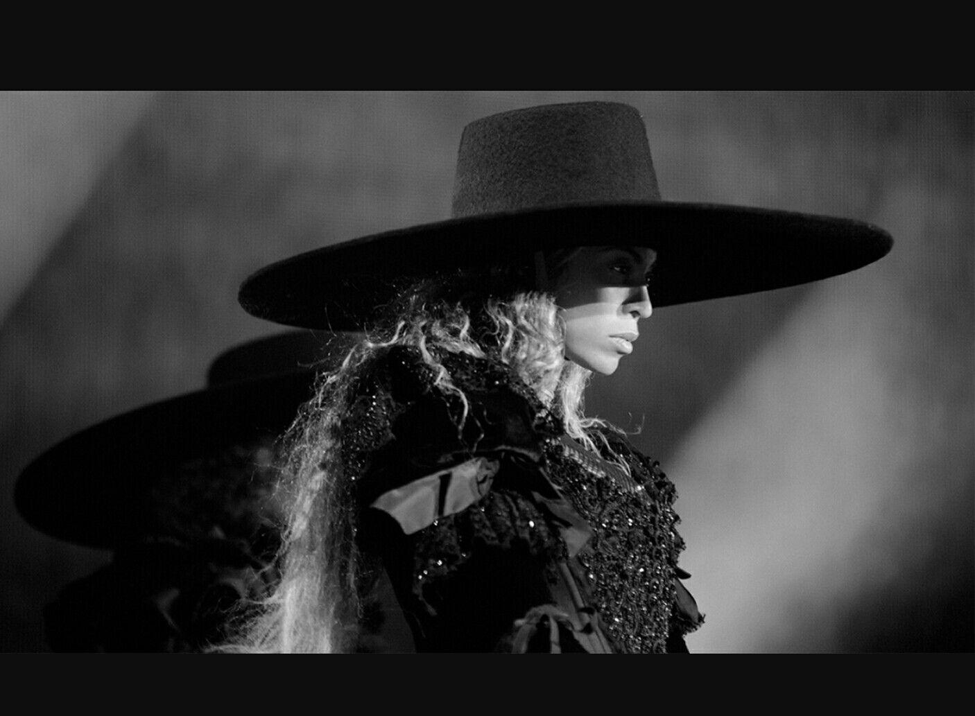 Beyonce extra wide brim black fedora hat  ec42fb863d4