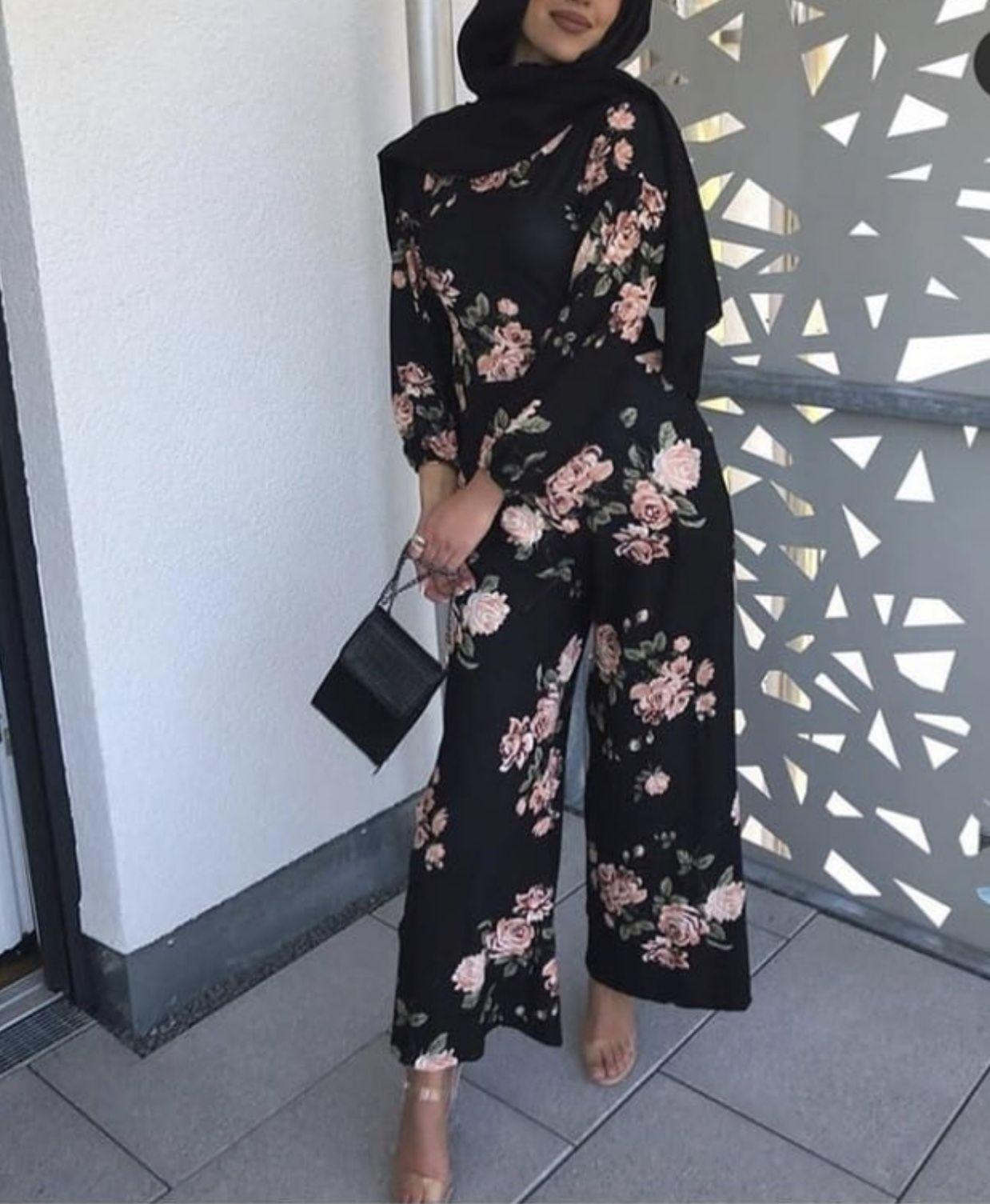 Pin By Maha Aly On Palazzo Pants Jumpsuit Hijab Fashion Fashion Modest Fashion