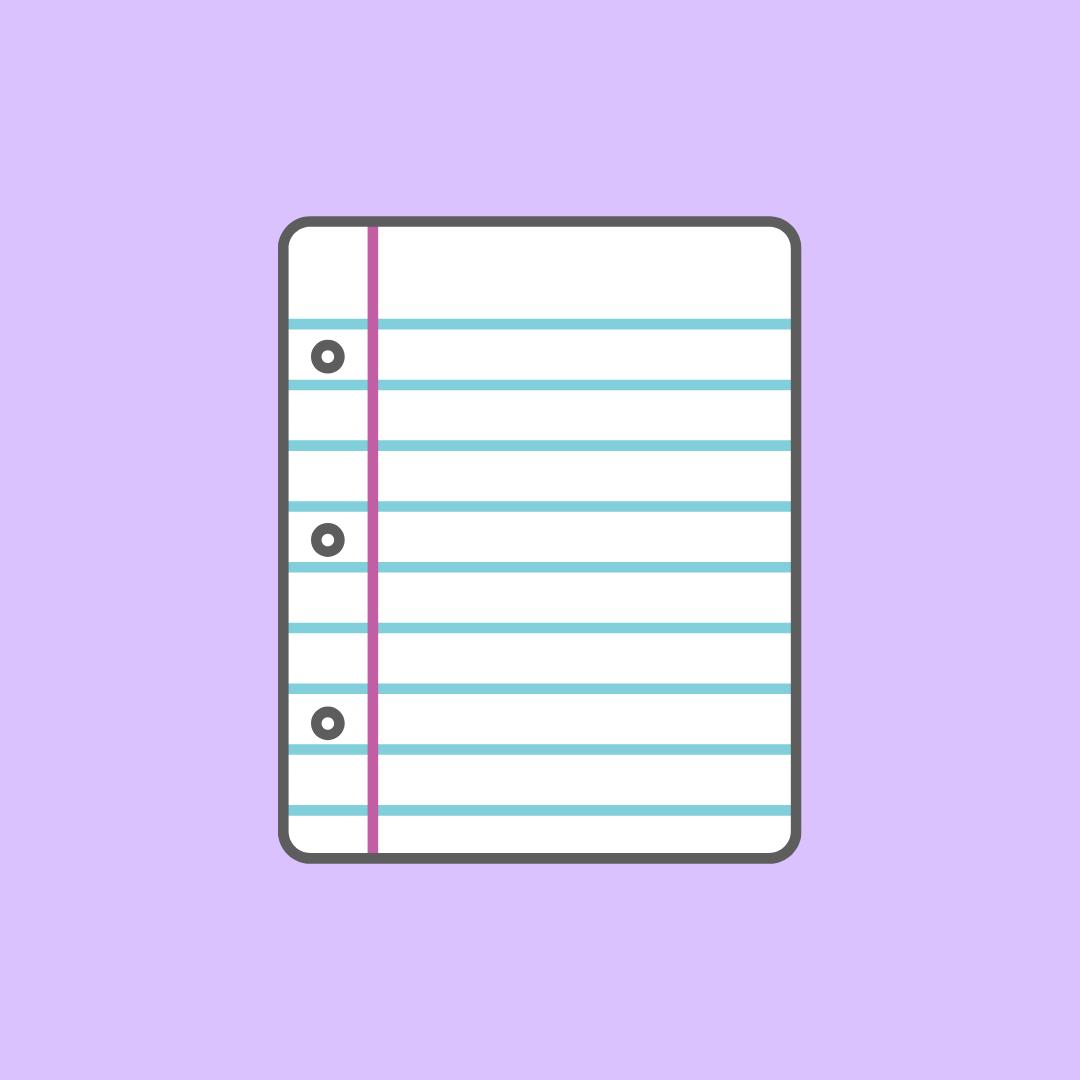 Light Purple Notes Ios App Iphone App Icon Iphone App Layout