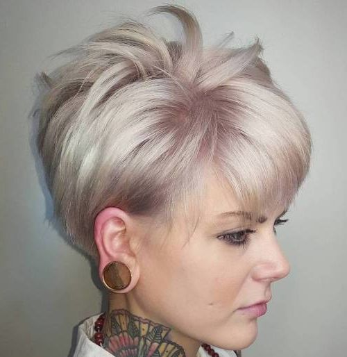 50 Mind Blowing Simple Short Hairstyles for Fine Hair 2019 ...