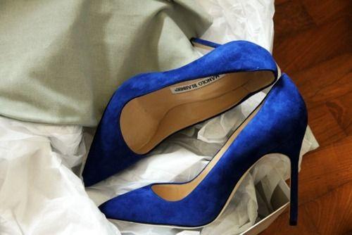 Escarpins bleu électrique | Escarpin bleu electrique
