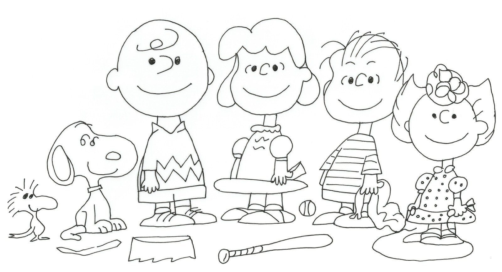 10++ Charlie brown christmas tree coloring sheet information