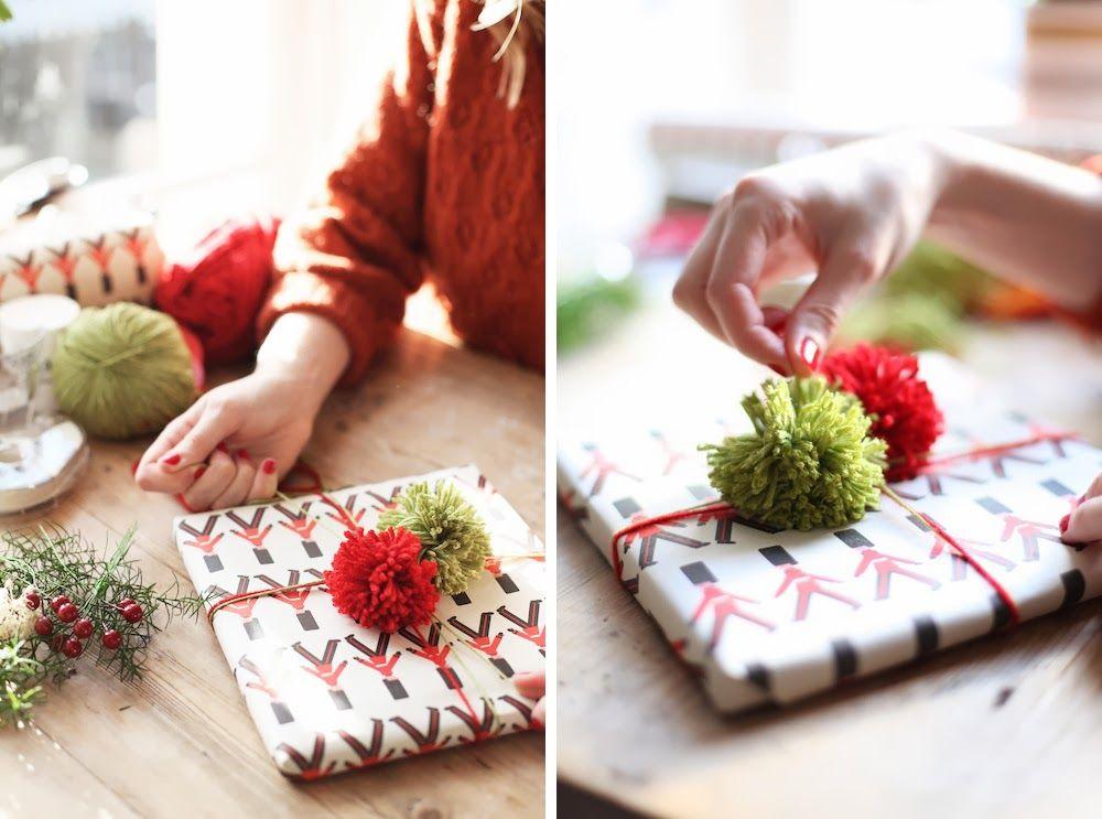 101 Handmade Christmas Wrapping Ideas